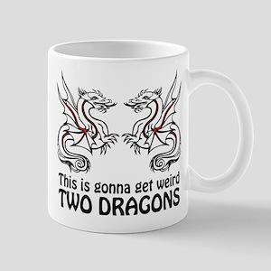 Two Dragons Mugs