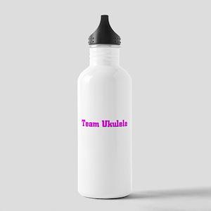 Team Ukulele Stainless Water Bottle 1.0L