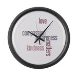 Kindness Matters Large Wall Clock