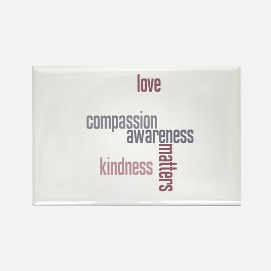 Cute Compassion Rectangle Magnet