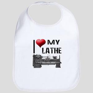 I Heart (Love) My Lathe Bib