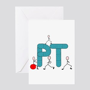 Physical Therapy Greeting Card