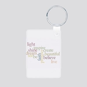 Kindness Matters Aluminum Photo Keychain