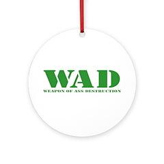 WAD Ornament (Round)