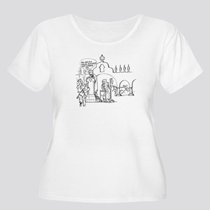 Mohammad Shirt (woman, plus size, scoop neck)