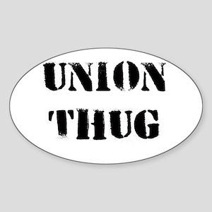 Original Union Thug Sticker (Oval )