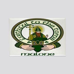 Malone Clan Motto Rectangle Magnets (10 pack)