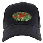 Indian Paintbrush Black Cap with Patch