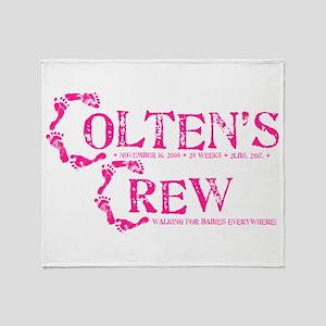 COLTENS CREW Throw Blanket