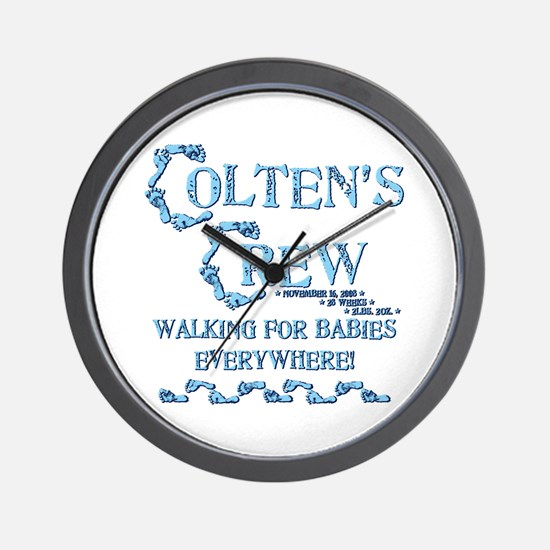 COLTENS CREW Wall Clock