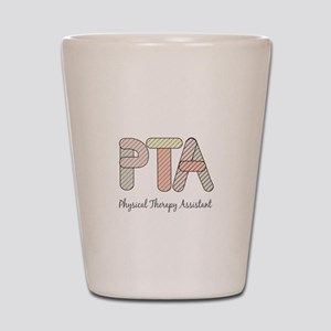 Physical Therapy Shot Glass