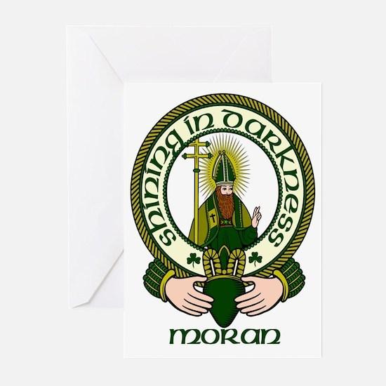Moran Clan Motto Greeting Cards (Pk of 10)