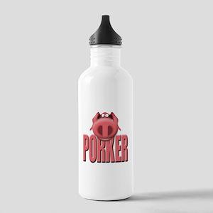 Porker Stainless Water Bottle 1.0L