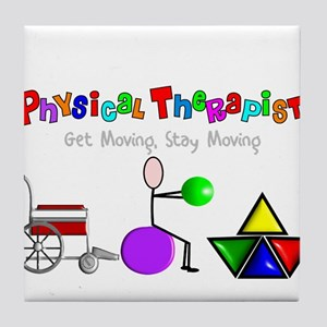 Physical Therapy Tile Coaster