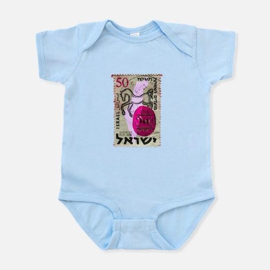 VINTAGE STAMP Infant Bodysuit