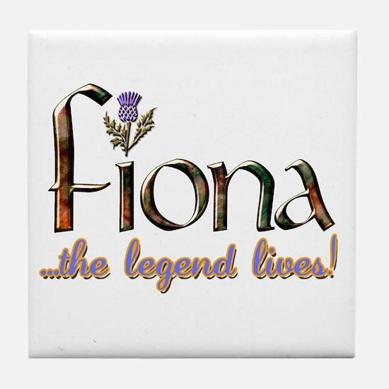 Fiona the Legend Tile Coaster