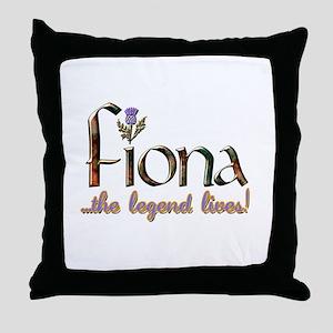 Fiona the Legend Throw Pillow