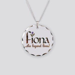 Fiona the Legend Necklace Circle Charm