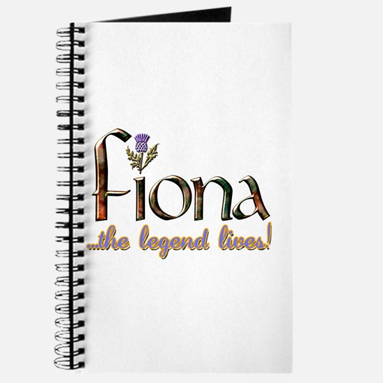 Fiona the Legend Journal