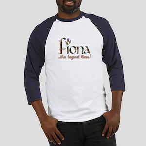 Fiona the Legend Baseball Jersey