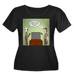 ATV Prog Women's Plus Size Scoop Neck Dark T-Shirt
