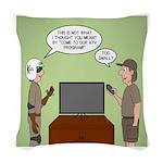 ATV Program Woven Throw Pillow