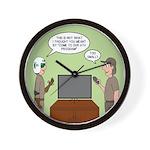 ATV Program Wall Clock