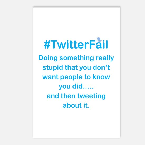 Don't Tweet About it Stupid Postcards (Package of
