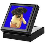 Little Puppy Keepsake Box