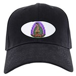 Lady of Guadalupe T4 Black Cap