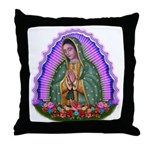 Lady of Guadalupe T4 Throw Pillow