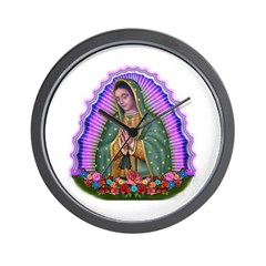Lady of Guadalupe T4 Wall Clock