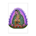 Lady of Guadalupe T4 Mini Poster Print