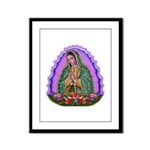 Lady of Guadalupe T4 Framed Panel Print