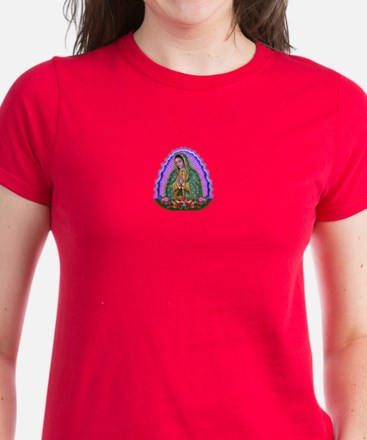 Lady of Guadalupe T4 Women's Dark T-Shirt