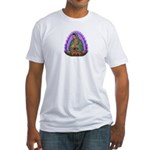 Lady of Guadalupe T4 Fitted T-Shirt