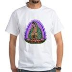 Lady of Guadalupe T4 White T-Shirt