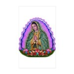 Lady of Guadalupe T4 Sticker (Rectangle 10 pk)