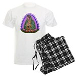 Lady of Guadalupe T4 Men's Light Pajamas