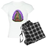 Lady of Guadalupe T4 Women's Light Pajamas