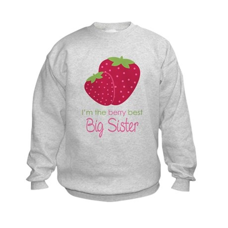 Berry Best Big Sister Kids Sweatshirt