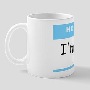 Hello, I'm 40 Mug