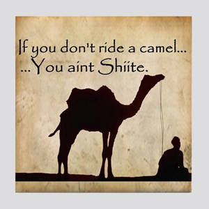 Shiite Camel Tile Coaster