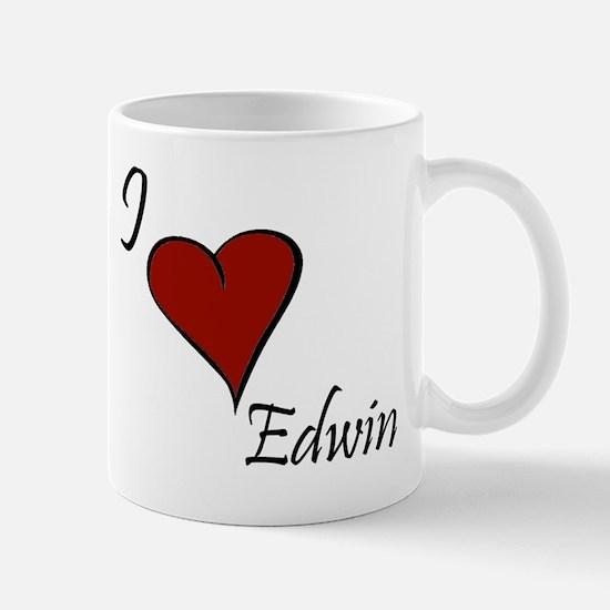 I love Edwin Mug