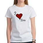 I love Erin Women's T-Shirt