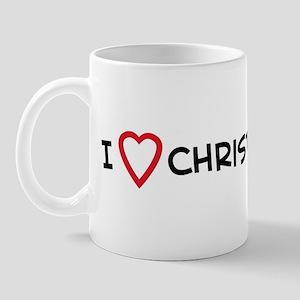 I Love Christian Girls Mug