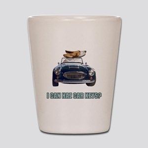 LOL Basset Hound Shot Glass