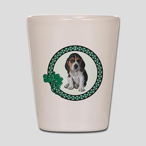 Irish Beagle Shot Glass