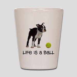 Boston Terrier Life Shot Glass