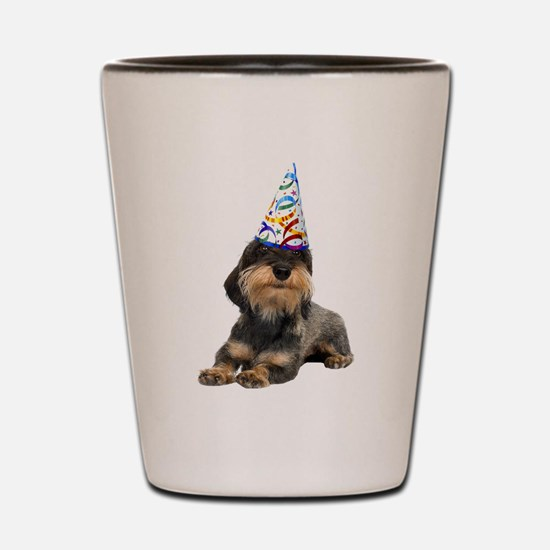 Wirehaired Dachshund Party Shot Glass